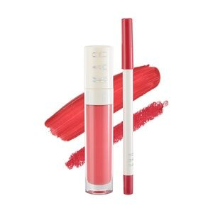 KAB- NEW CHARMING LIP SET-Lip Liner & Lip Gloss